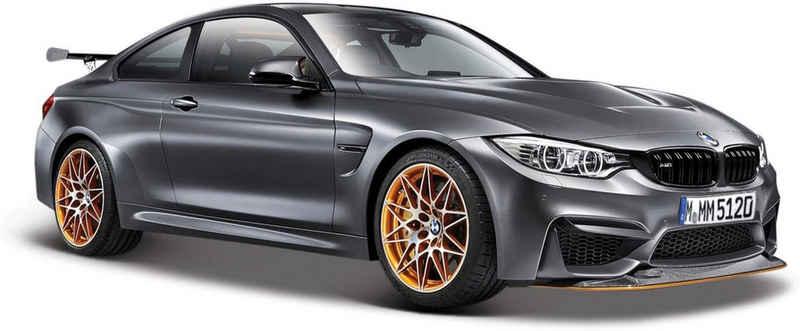 Maisto® Sammlerauto »BMW M4 GTS, 1:24, metallic grau«, Maßstab 1:24, aus Metallspritzguss