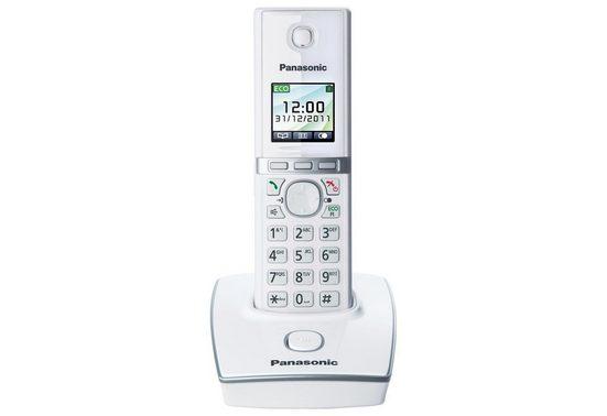 Panasonic »KX-TG8051G« Schnurloses DECT-Telefon (Mobilteile: 6, Der ECO-Modus reduziert permanent die Funkleistung um 90)