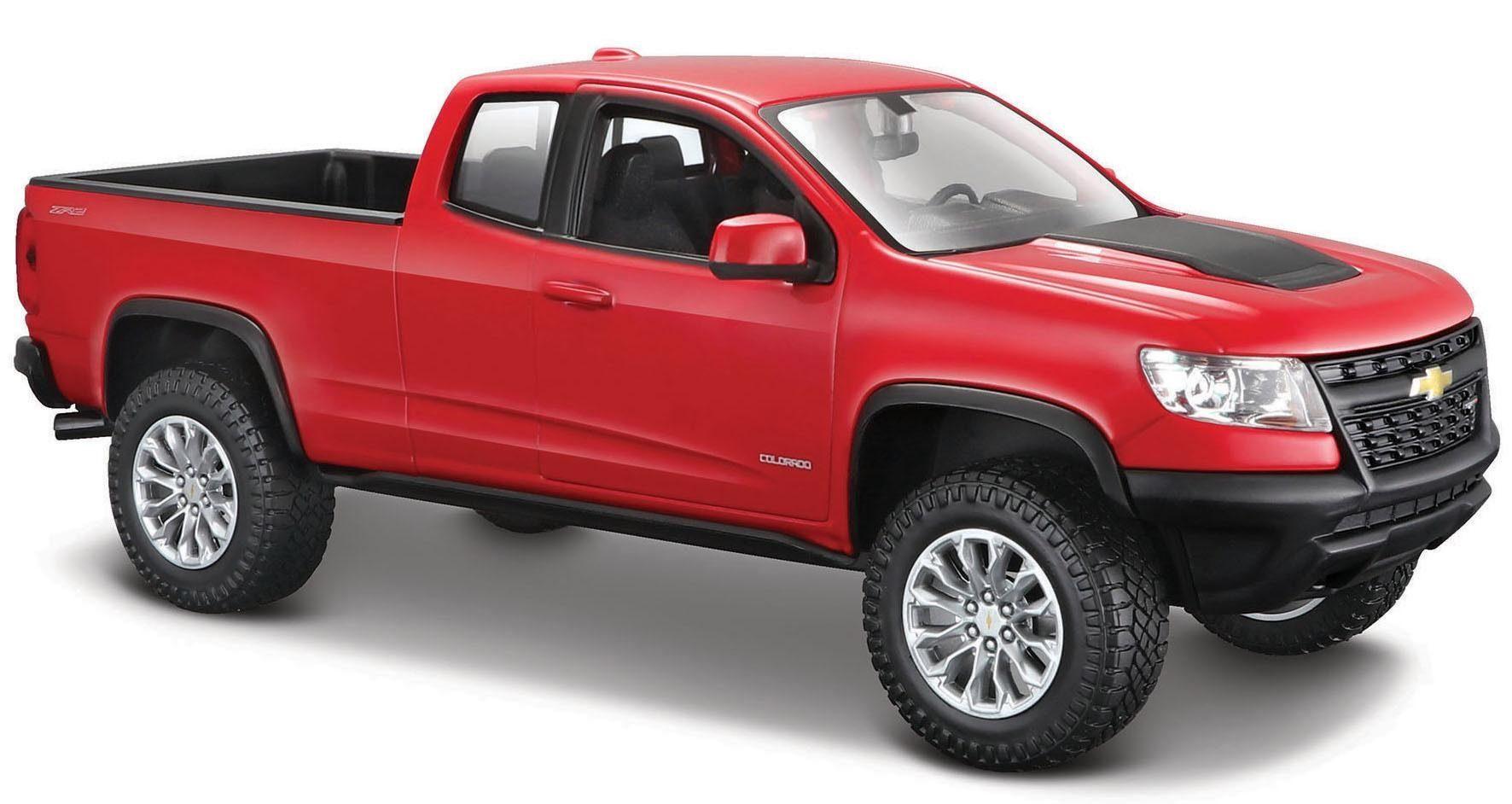 Maisto® Sammlerauto, »Chevrolet Colorado ZR2 '17, 1:27, rot«