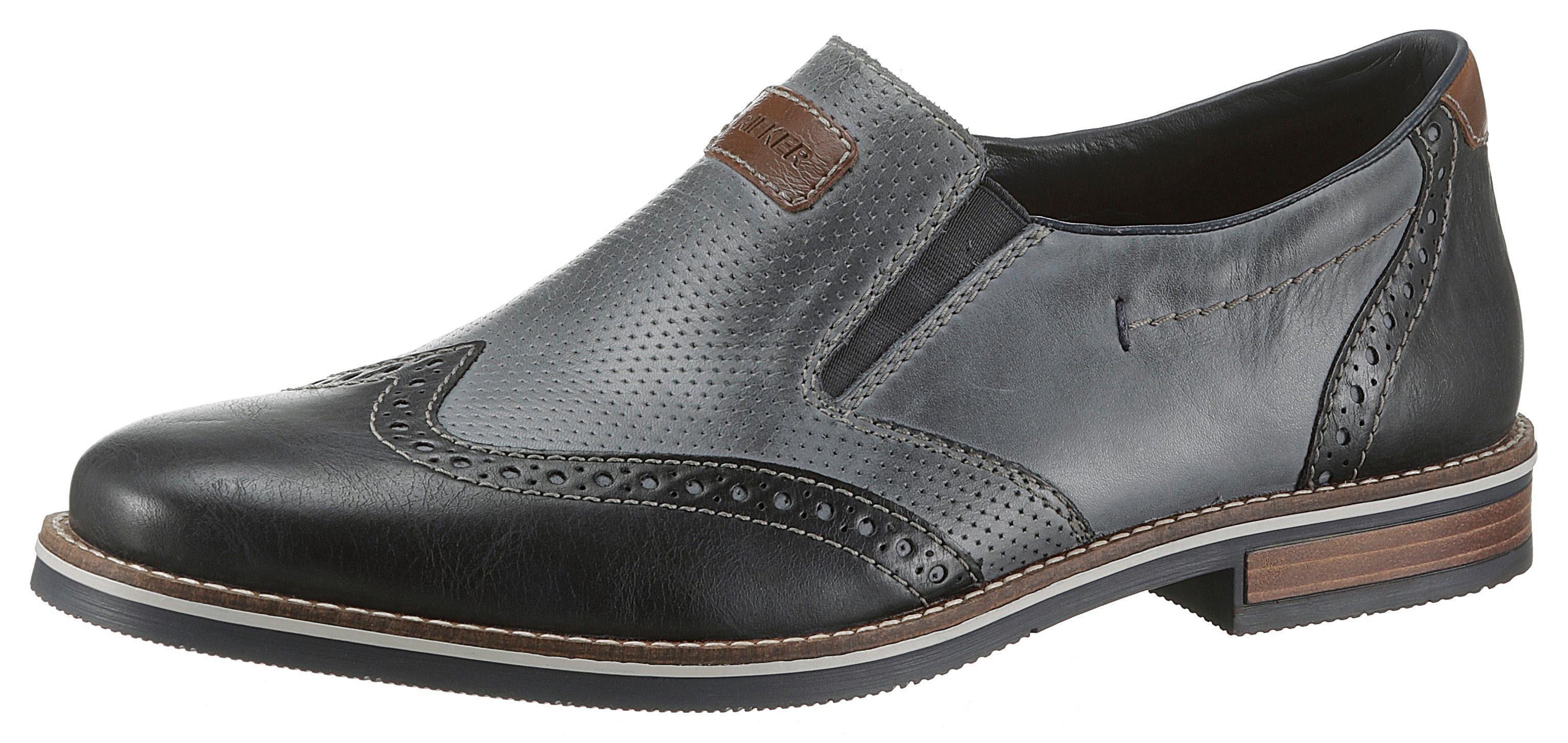 NEU Rieker Herrenschuhe Gr 45 Business Schuhe Slipper