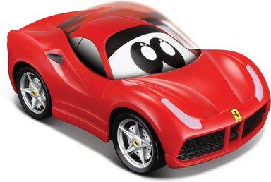 bbJunior Spielzeug-Auto »Ferrari 488GTB - Press & Charge«, mit Licht