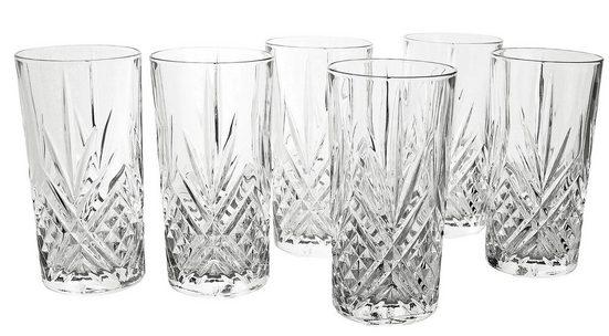 Luminarc Longdrinkglas »Eugene« (6-tlg), edler Schliff