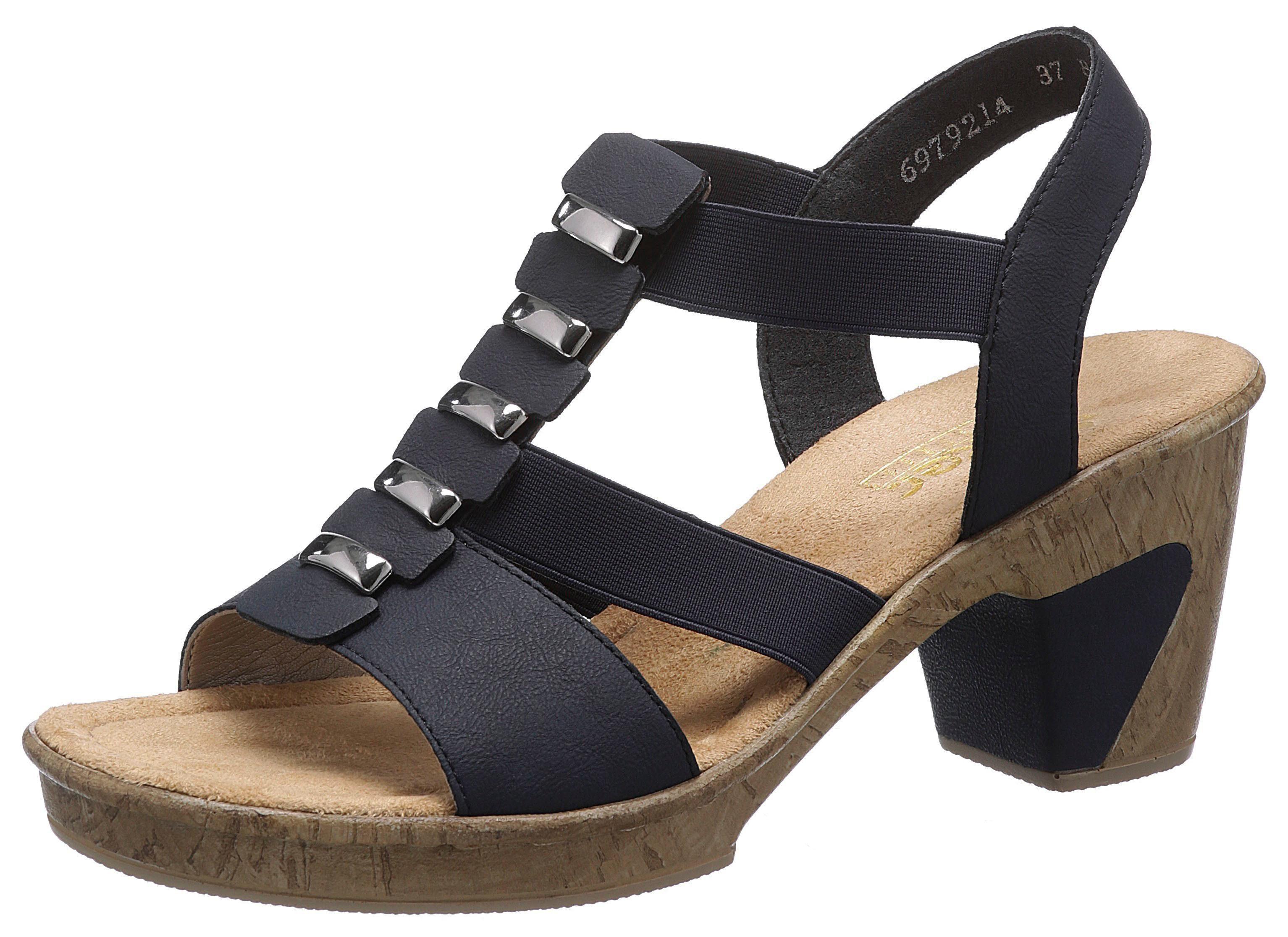 Rieker Sandalette mit tollem Schmuckelement