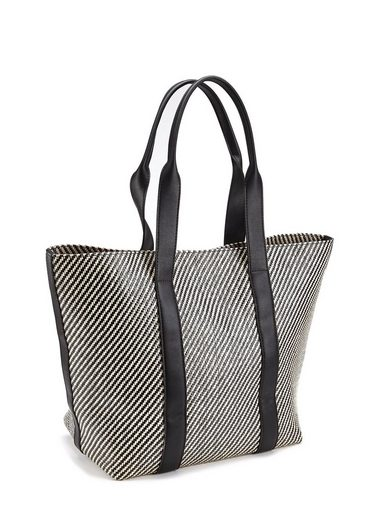 LASCANA Shopper, in Schwarz-Weiß-Optik