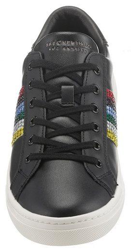 Modischen Rockers« Mit Goldie Sneaker rainbow Glitzersteinchen »street Skechers UqxzOPq