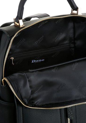 Abnehmbarer London Cityrucksack Reißverschlusstasche Mit Dune »dophia« qpIzCqw6