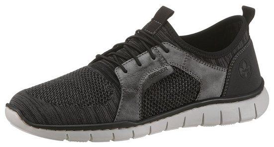 Rieker Slip-On Sneaker im lässigen Knitwear-Look