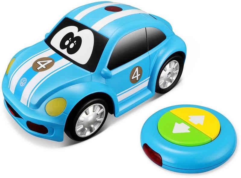 bbJunior RC-Auto »VW New Beetle Easy Play, blau« (Set, Komplettset), mit Licht und Sound