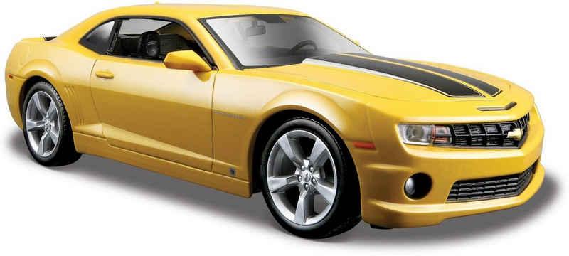 Maisto® Sammlerauto »Chevrolet Camaro SS RS9, 1:24, gelb«, Maßstab 1:24, aus Metallspritzguss