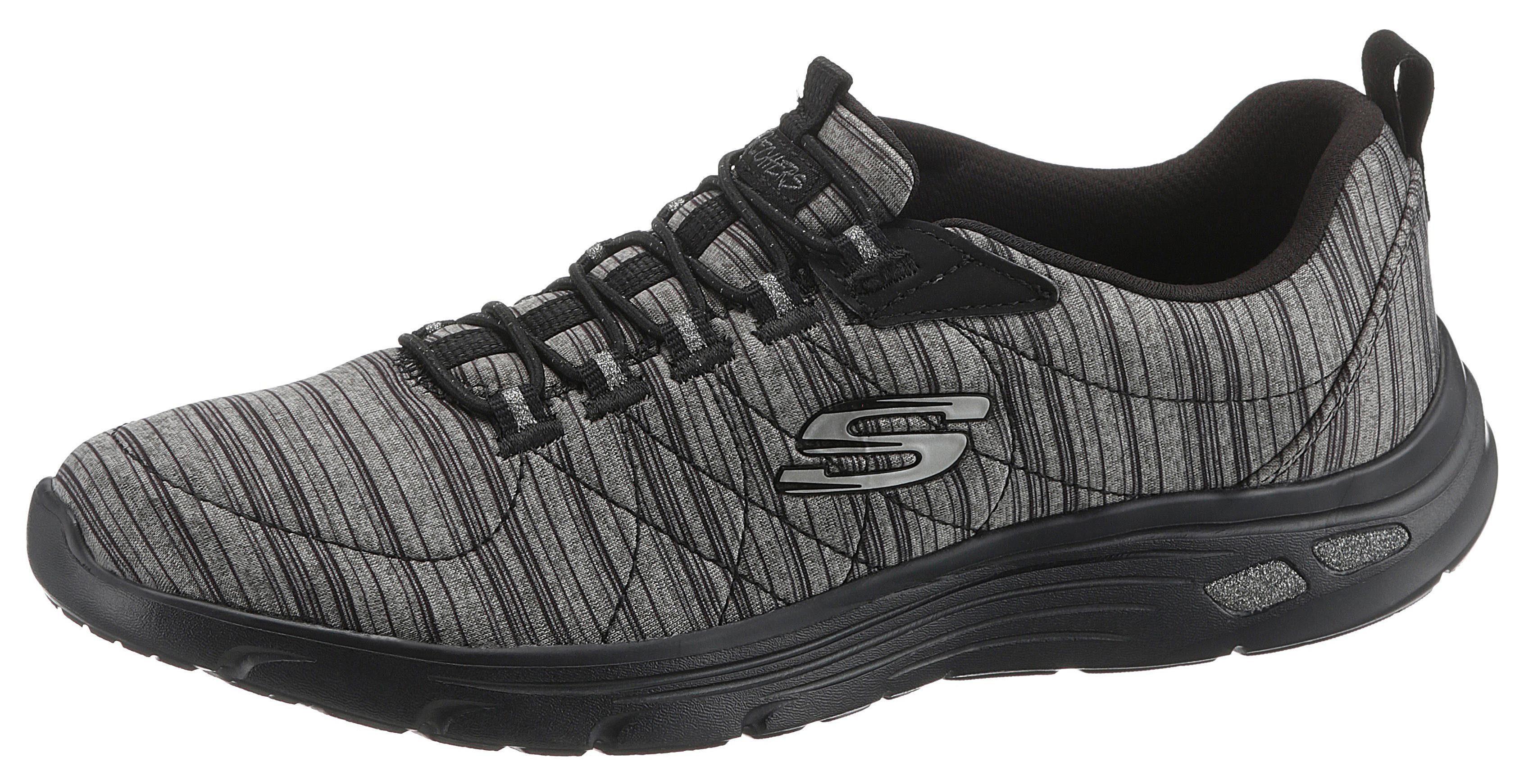 Kleidung & Accessoires Damenschuhe Farbe Schwarz Attraktive Designs; Damen Laufschuhe Skechers Skech Air Infinity All Aglow