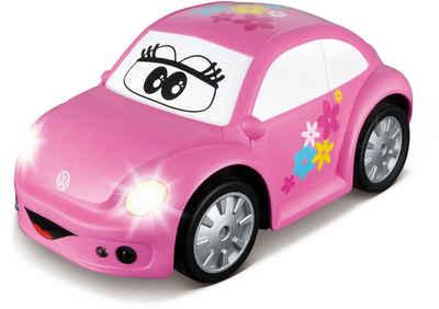 bbJunior RC-Auto »VW New Beetle Easy Play, pink« (Set, Komplettset), mit Licht und Sound