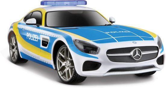 Maisto Tech RC-Auto »Mercedes AMG GT Polizei« (Set, Komplettset), mit Licht und Sound