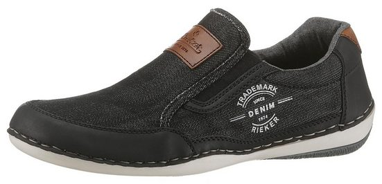 Rieker Slip-On Sneaker mit herausnehmbarer Innensohle