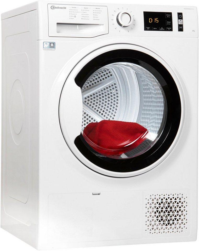 bauknecht w rmepumpentrockner t soft m11 82wk de 8 kg online kaufen otto. Black Bedroom Furniture Sets. Home Design Ideas