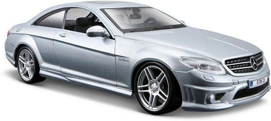 Maisto® Sammlerauto »Mercedes CL63 AMG, 1:24, silber«, Maßstab 1:24, aus Metallspritzguss