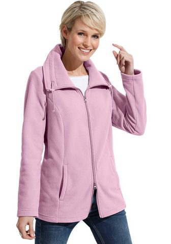 CLASSIC BASICS Флисовая куртка с Umlegekragen