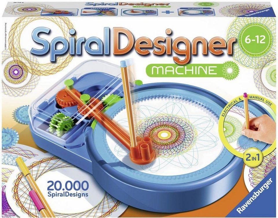 Ravensburger Malvorlage Spiral дизайнер Maschine