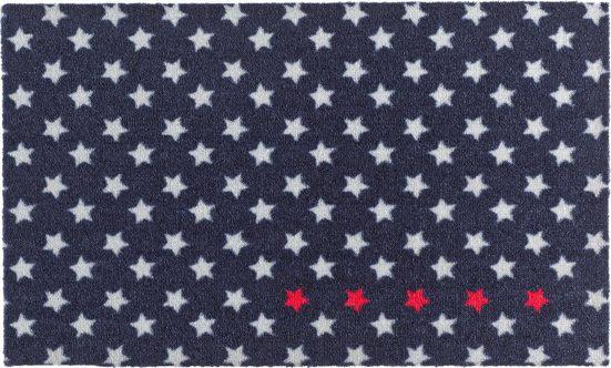 Fußmatte »Five Stars«, Zala Living, rechteckig, Höhe 7 mm, In- und Outdoor geeignet