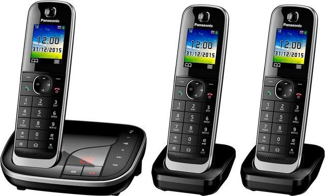 Panasonic »KX-TGJ323« Schnurloses DECT-Telefon (Mobilteile: 3, mit Anrufbeantworter)