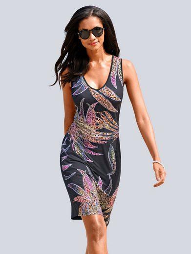 Alba Moda Strandkleid mit Strasssteinen