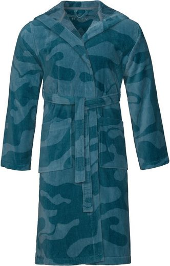 Unisex-Bademantel »Domingo«, Vossen, im Camouflage-Design
