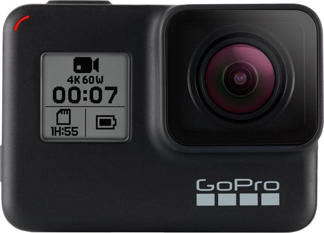 Action, Outdoorkameras - GoPro »HERO 7 BLACK« Action Cam (4K Ultra HD, Bluetooth, WLAN (Wi Fi)  - Onlineshop OTTO