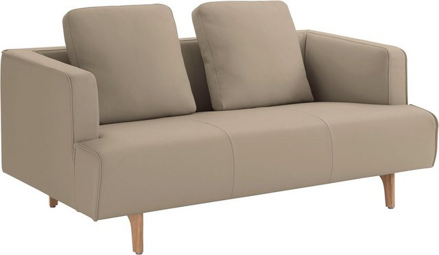 Sofas - hülsta sofa 2 Sitzer »hs.440«, wahlweise in Stoff oder Leder, Fuß Eiche natur  - Onlineshop OTTO