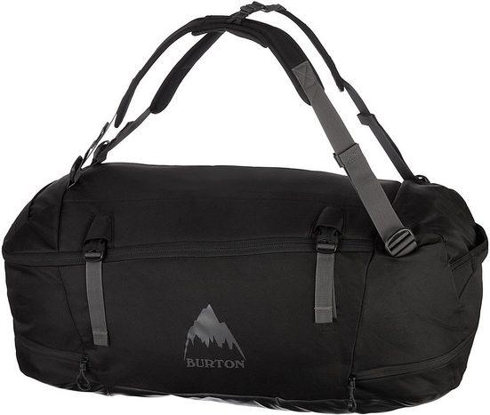 BURTON DG Reisetasche »Multipath, 90 l, True Black Ballistic«, mit Rucksackfunktion