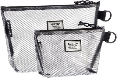 BURTON DG Kosmetiktasche »Utility Pouch Set, Clear« (Set)