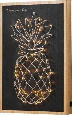Schneider LED-Wanddeko »Ananas«