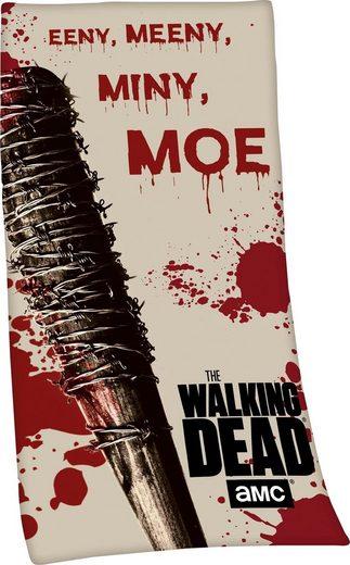 Badetuch »The Walking Dead«, mit Schriftzug