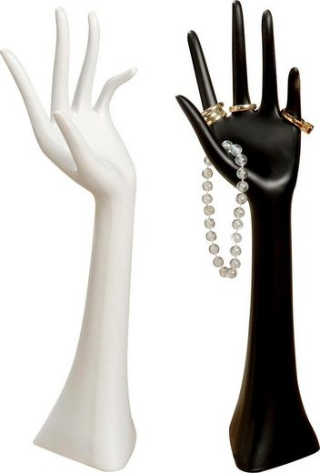BOLTZE Schmuckständer »Hand« (Set, 2 tlg)