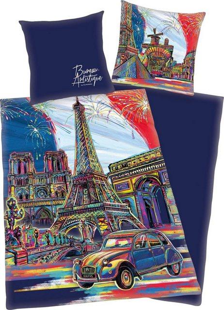 Jugendbettwäsche »Paris«, mit Paris Motiv   Kinderzimmer > Textilien für Kinder > Kinderbettwäsche   Baumwolle   OTTO