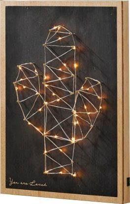 Schneider LED-Wanddeko »Kaktus«