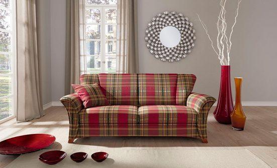 FROMMHOLZ® 2,5-Sitzer »Verona«, im klassisch zeitlosem Design, Breite 222 cm wahlweise mit Sitztiefenverstellung und abklappbaren Armlehnen