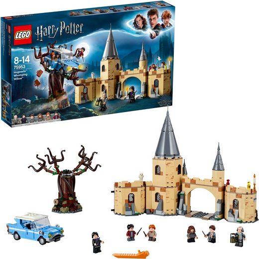 LEGO® Konstruktionsspielsteine »Die Peitschende Weide von Hogwarts™ (75953), LEGO® Harry Potter«, (753 St)