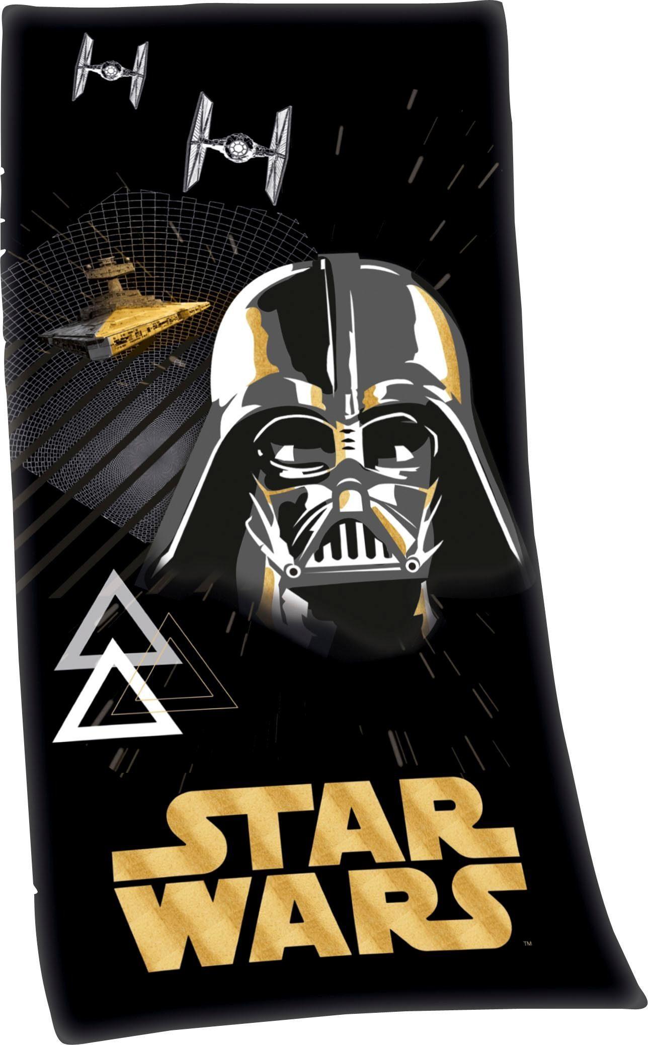 Badetuch »Star Wars«, Star Wars, mit Darth Vader Motiv