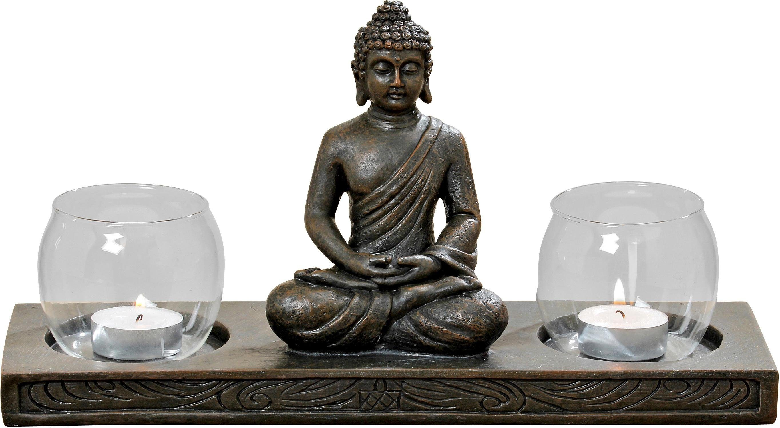 Home Affaire Windlicht »Buddha«