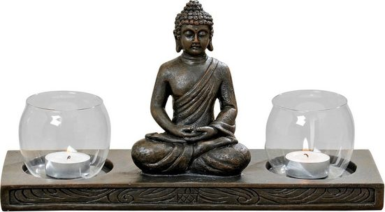 BOLTZE Windlicht »Buddha«