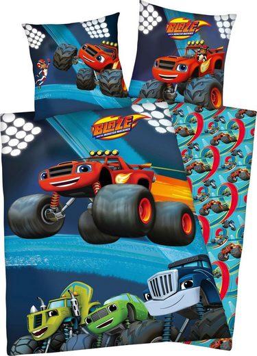 Kinderbettwäsche »Blaze Group«, mit Automotiv