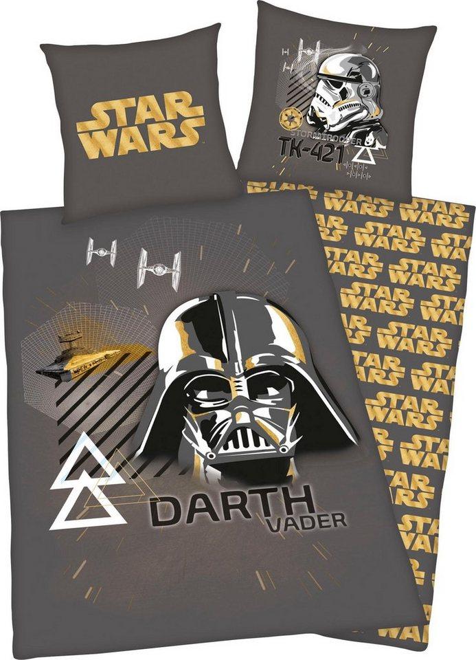 Kinderbettwäsche »Darth Vader«, Star Wars, mit Motiv online kaufen ...