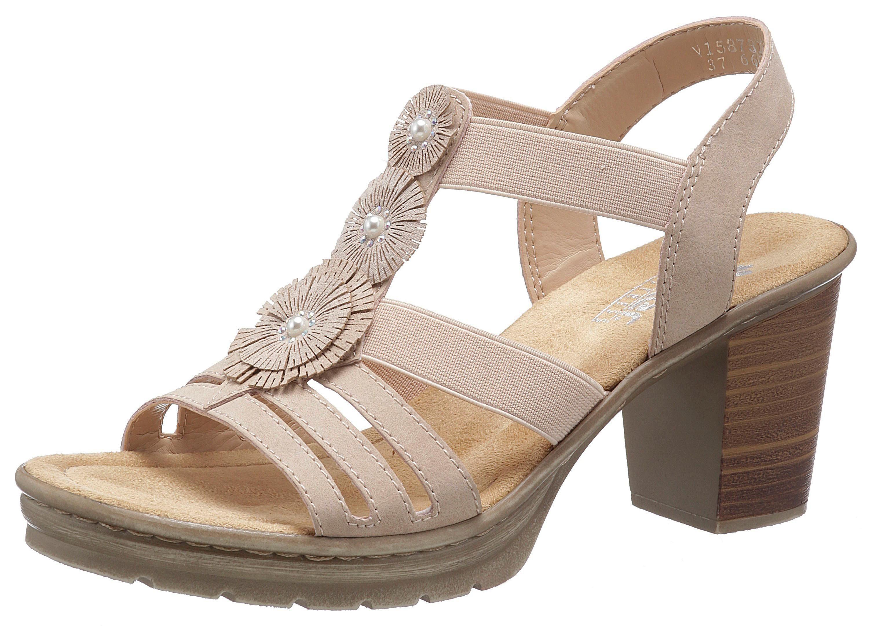 Rieker Sandalette mit Schmuck Applikation kaufen | OTTO