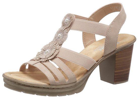 Rieker Sandalette mit Zierperlen