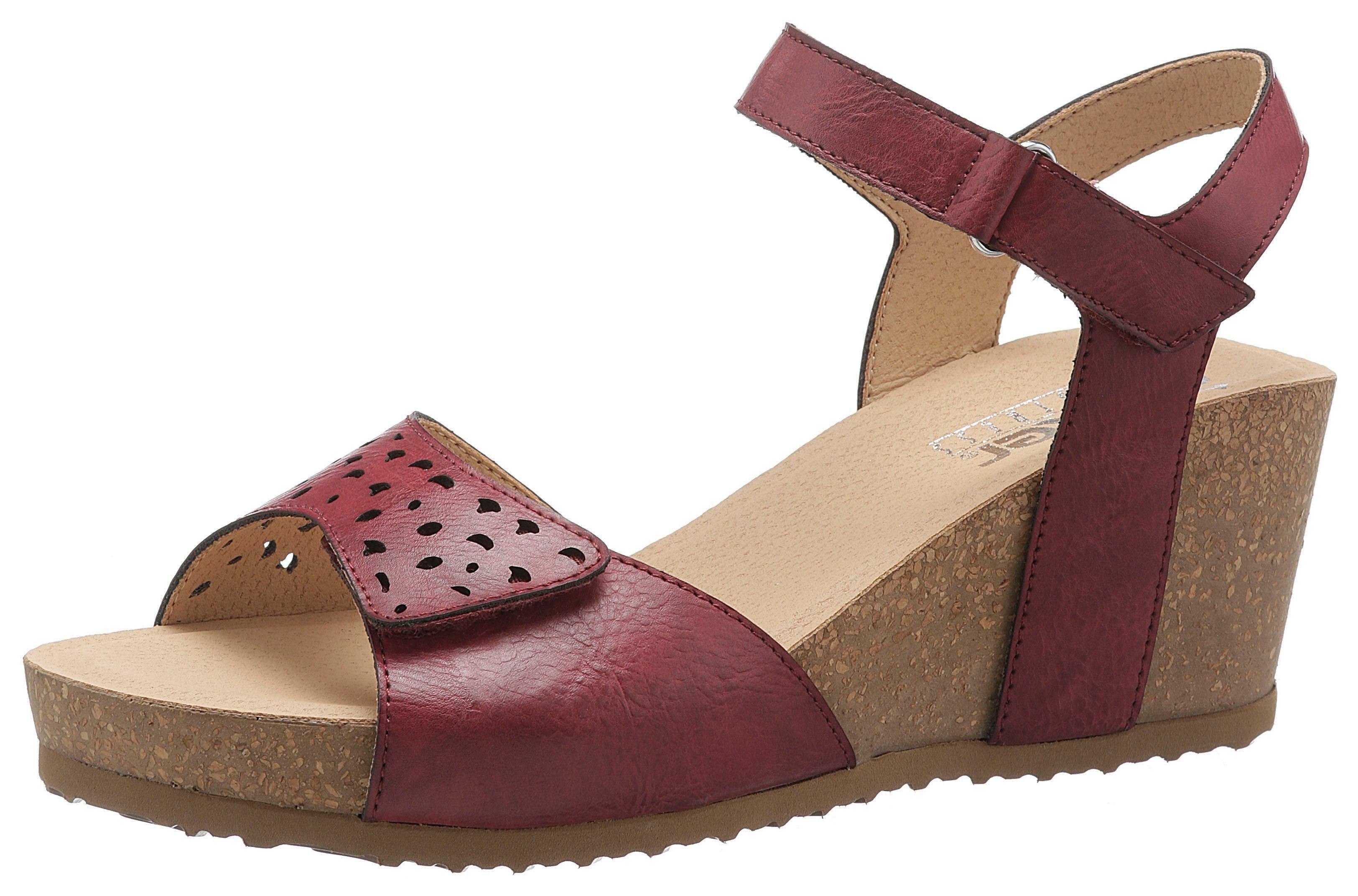 Rieker Sandalette mit Klettverschlüsse, In sommerlicher Optik online kaufen | OTTO