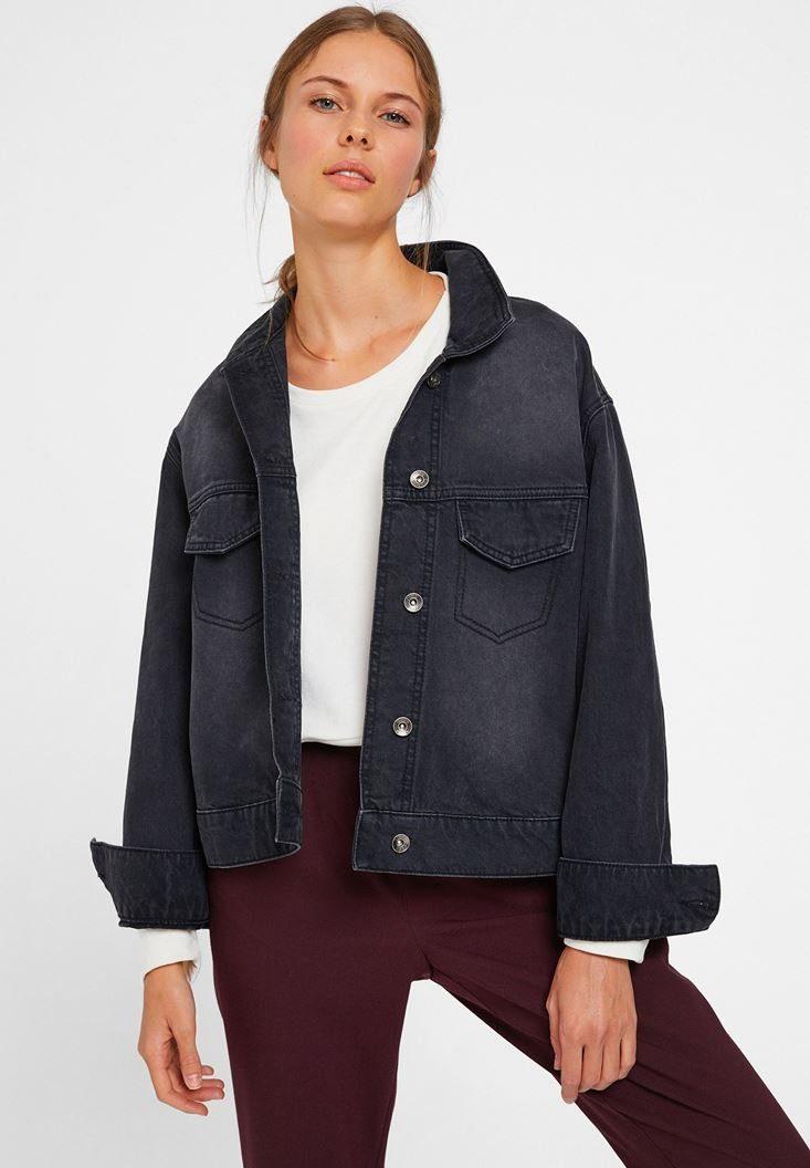 OXXO Jeansjacke mit lässiger Passform