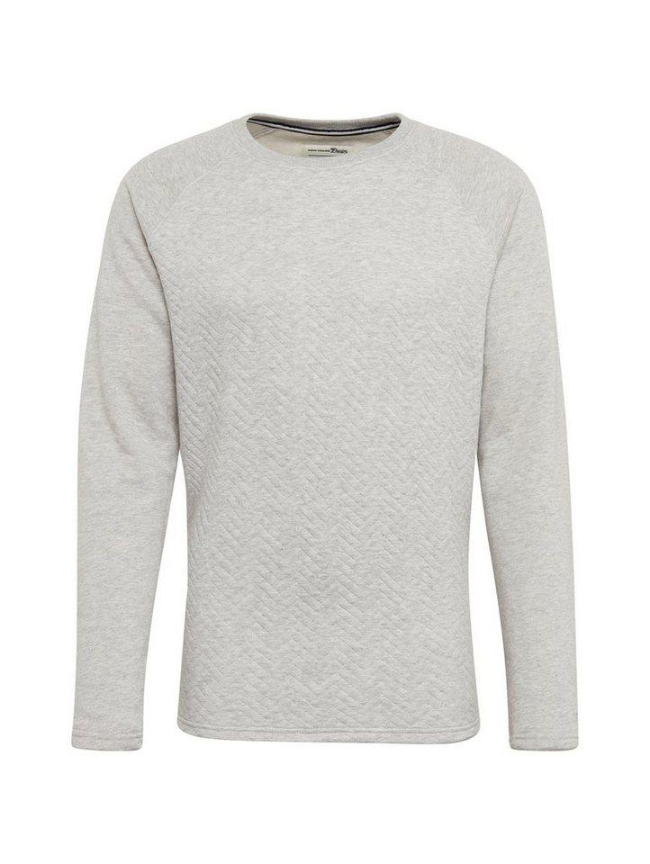 Herren TOM TAILOR Denim  Sweatshirt mit Rundhals grau | 04060868311737