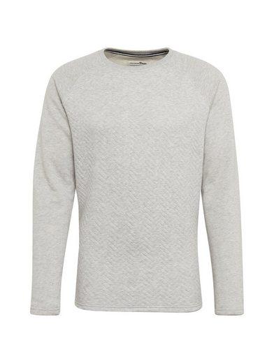 TOM TAILOR Denim Sweatshirt »mit Rundhals«