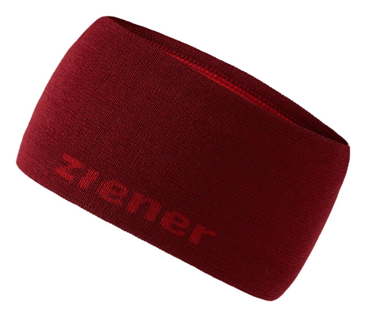 Ziener Stirnband »IXONI« | Accessoires > Mützen > Stirnbänder | Rot | Ziener