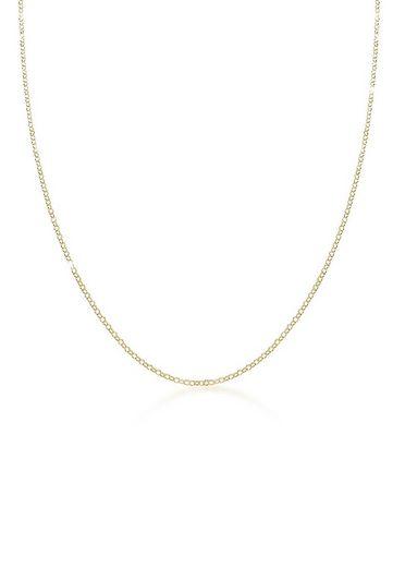 Elli Collierkettchen »Basic Erbskette Klassisch 375er Gelbgold (9 Karat)«