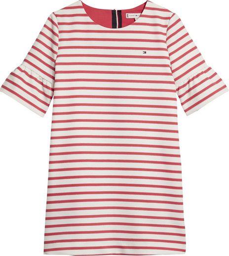 Tommy Hilfiger Kleid »ESSENTIAL STRIPE SHIFT DRESS S/S«